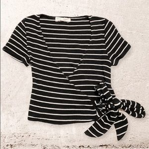 🧸Urban Outfitters Project Social T Stripe Shirt